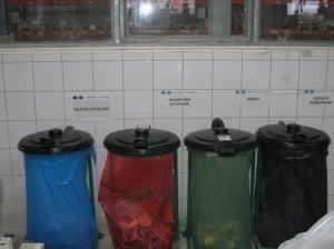 Oznakowanie worków na odpady - 5S - systematyka