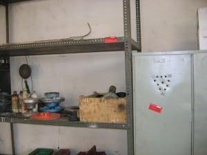 Fot. 4. Warsztat mechaniczny