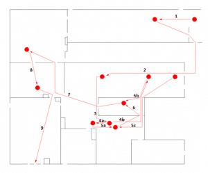 Diagram spaghetti - przed optymalizacją